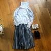 【30代ファッション】プリーツスカート①【春待ちコーデ】