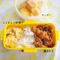 ご飯がすすむ!鶏キムチのお弁当