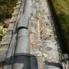 塀修理1(古い土塀の簡易補修01)