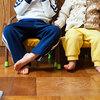 子供用パイプ椅子(豆椅子)の座面高さを調整するプチカスタマイズ方法と反省点