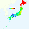 Women's Smoking Rate by Prefecture in Japan, 2013