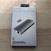 iPad Proにも使えて一つあると便利! Satechi V2 アルミニウム USB-Type Cマルチハブ