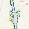 信州スカイパークで10キロ走の実施