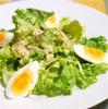 卵とレタスのサラダ