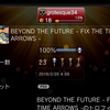 プラチナトロフィー36個め「BEYOND THE FUTURE - FIX THE TIME ARROWS」