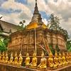 古都「チェンセーン(Chiang Saen )」の街並を見る~濠、城壁内の寺院をここでも自転車で廻ってみる!!