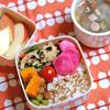 #014 野菜たっぷり中華風スープ弁当