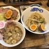 サバ6製麺所@成城学園前のサバ濃厚鶏つけ麺セット