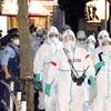 【画像】 歌舞伎町のホストクラブを家宅捜索する警察官の格好がヤバすぎると話題に