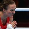 女子ボクシング・ライト級のケリー・ハリントン選手 - 決勝進出