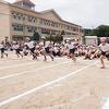 チャレンジ運動会⑤ 2年生徒競走