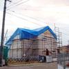 工事66日目:屋根小屋組み工事①