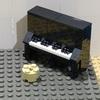 レゴで作るアップライトピアノ!動画付き(リライト)