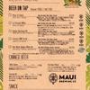 7月4日(木)《Mauiグッズ販売中》18時~24時(23時LO)