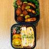 シャウエッセンと夏野菜のソテー弁当と温度差