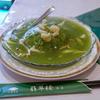 横浜中華街「翡翠楼」の翡翠チャーハンは米粒まで緑でビックリ!上品な味わいで二度ビックリ