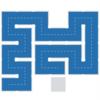 """【攻略】パズルゲームの""""Fill""""の攻略を載せてみる expertのLevel1の71~80"""