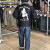 """トイズマッコイ/TOYS McCOY 全米兵士に愛されたマリリンモンローが背面にプリントされた魅力的なN-1デッキジャケット""""MISS TORPEDO""""☆"""