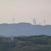 白滝山の風車:下関市
