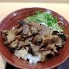 肉のヤマキ商店。カルビ焼肉丼(シングル)