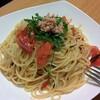 完熟トマトのパスタ