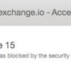 coinexchange(コインエクスチェンジ)のError code 15で登録できない件