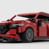 【LEGO】マツダ3のファストバックのショートビデオ(進化)