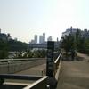 鶴見緑地公園までランニング