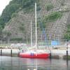 初めて釜石港にやって来ました。