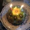 今日は旦那さんの誕生日♪ ケーキを作りました(*^□^*♪)