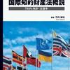 弁理士試験対策にも役立つ国際知的財産法のテキスト本
