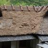 中岡慎太郎生家屋根の葺き替え作業再開。