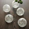 がらすやOQU・小国香織さんのガラスの花器やブローチなどが入荷致しました