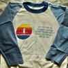 私の古着から「RUSSELL ATHLETIC」ボディのTシャツをご紹介。1980年代「金タグ」のラグランTです