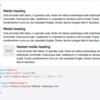 Bootstrap3のMedia objectをレスポンシブ対応にする