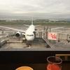 徹夜明けで大阪へ