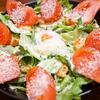簡単で美味しい温玉シーザーサラダの作り方