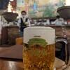 ガラスモザイク画を見ながらビールを飲みに、ビヤホールライオン銀座7丁目店に行ってみた。(中央区銀座)