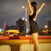 夜のポートレート撮影会「天橋バレエ」に参加。夜の撮影は楽しい