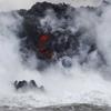 ハワイ島・キラウエア火山の噴火に伴って流出した溶岩が海に到達!化学反応を起こし、有毒な『塩酸雲』を発生する地獄絵図に!!