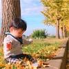 公園でポカポカ日向ぼっこ(^O^)