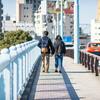スカイツリーから言問橋を渡って春を探しに散歩する