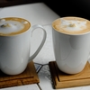 台南   BB ART CAFEの立体ラテアートです