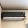 エアコン水漏れ点検と清掃