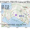 2017年07月25日 19時22分 胆振地方中東部でM3.5の地震