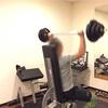 「減量よりも肉体改造を!」 分かりやすい目標です  〜トレーニング風景〜