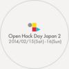 Yahoo Open Hack Day2 に参加してきました