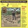 Classic Blues Artwork from the 1920's Vol.15 - 2018 Calendar AMERICAN EPIC SPECIAL EDITION