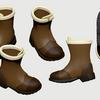 オリキャラ用のブーツのリメイク
