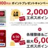 エポスカードはポイントサイトで発行決定!最大14000円相当もらえます!